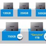 Gamme SSD 840 evo Samsung
